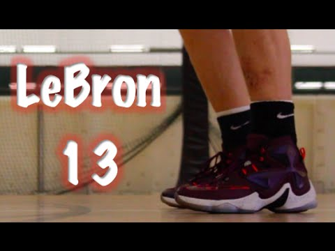 brand new 55d7e 1a2b6 Nike LeBron 13 Performance Review - YouTube
