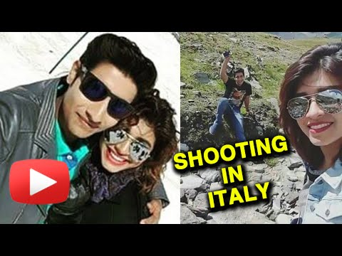 (video)Akash Thosar In Italy With Sanskruti Balgude | Shooting For A Marathi Movie