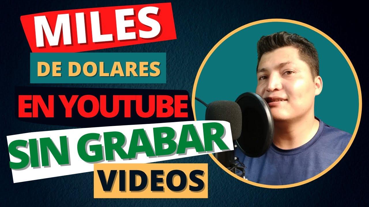 ✅Ganar MILES DE DOLARES en YouTube 🔴SIN GRABAR VÍDEOS   [ TRUCO 2021] Alexander López