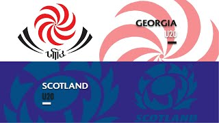 U20s HIGHLIGHTS: Georgia 17-12 Scotland