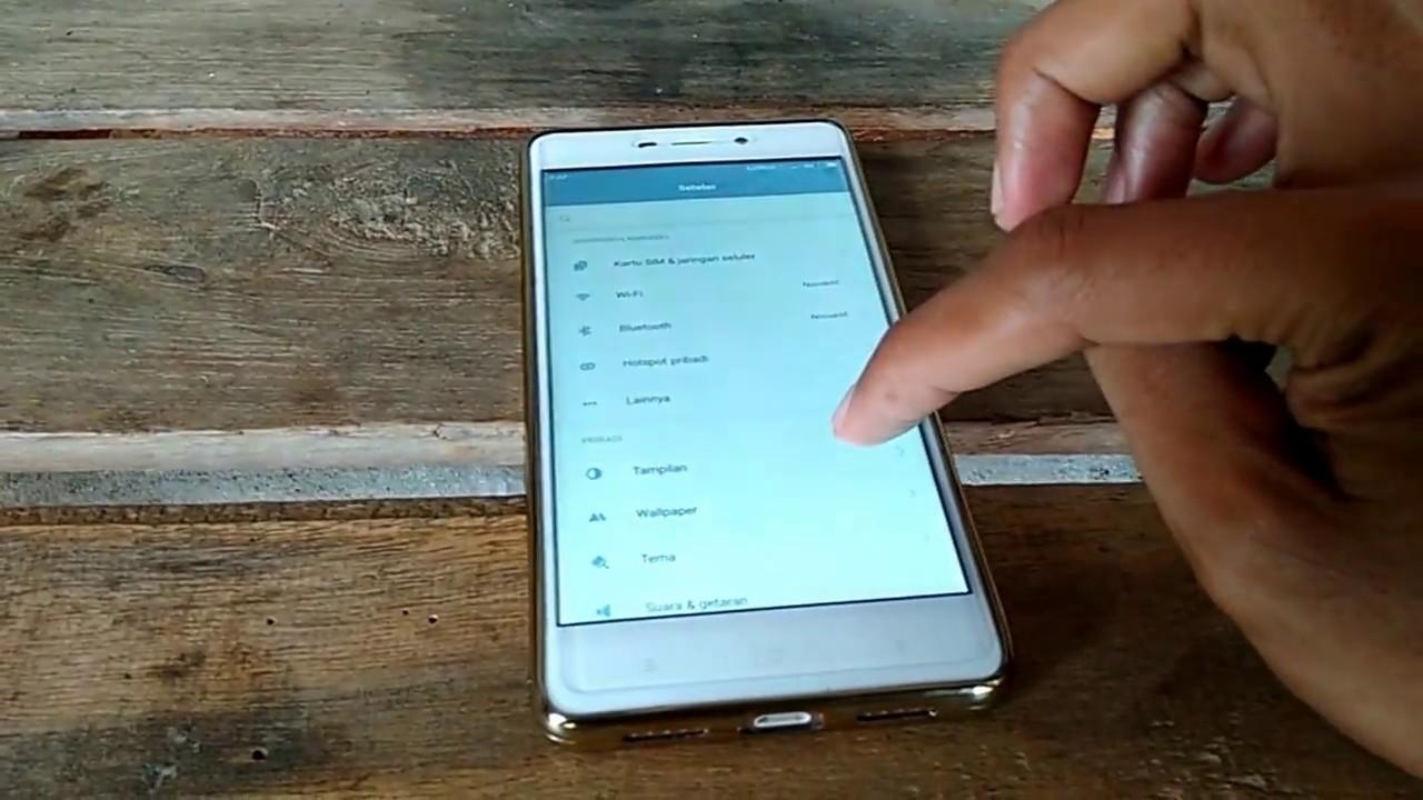 Cara Mengaktifkan Ketuk Dua Kali Untuk Menyalakan Xiaomi Redmi 4