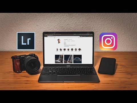 Instagram Export Settings For Lightroom // Upload HIGH-QUALITY Photos!