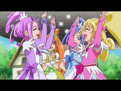 Glitter Force Doki Doki - Episode Clip - Lights… Camera… Distraction