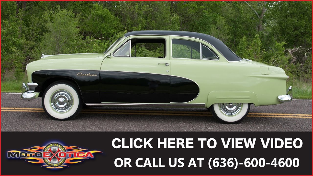 1950 Ford Crestliner For Sale. MotoeXotica Classic Cars & 1950 Ford Crestliner For Sale - YouTube markmcfarlin.com