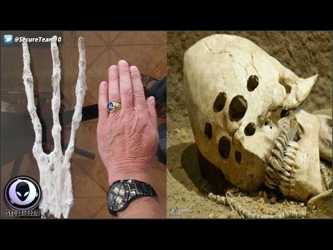 "Creepy ""Alien Remains"" Found In Isolated Cave? 1/8/17"