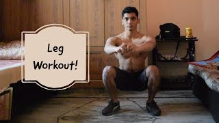Home Leg Workout for Beginners