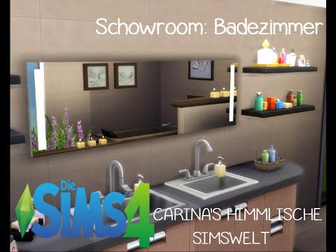 sims4 showroom badezimmer youtube. Black Bedroom Furniture Sets. Home Design Ideas