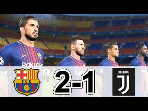 BARCELONA v JUVENTUS Pes 2018 Full Match HD Gameplay PC