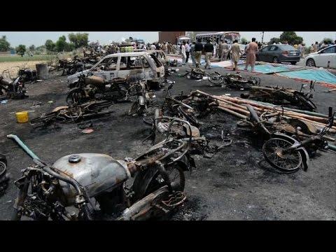 139 dead, more than 100 injured in Pakistan oil tanker fire