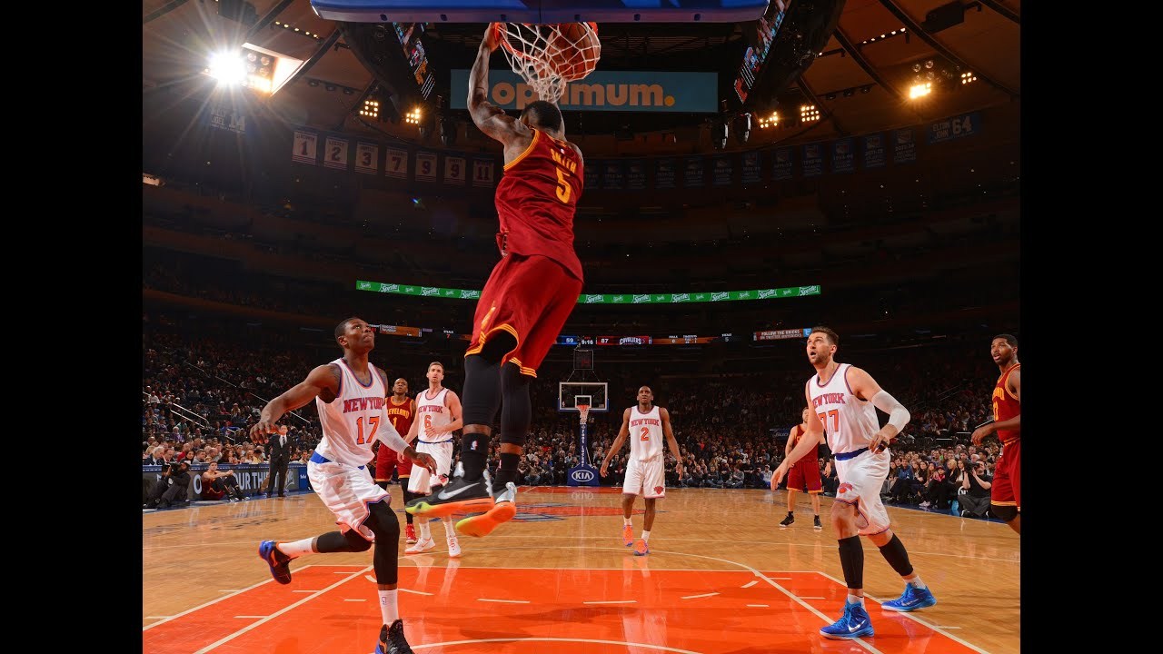2e36cf729c8 J.R. Smith Throws Down a Reverse Alley-Oop in 240fps! - YouTube