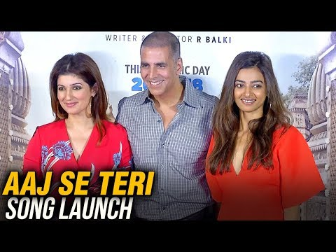 Padman Song Aaj Se Teri Song Launch FULL EVENT | Akshay Kumar, Radhika Apte