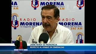 Jaime Nebot se pronuncia con respecto al ataque en Matajes