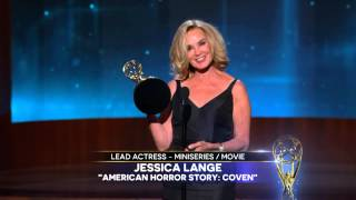 Jessica Lange Wins Best Supporting Actress TV Series ...
