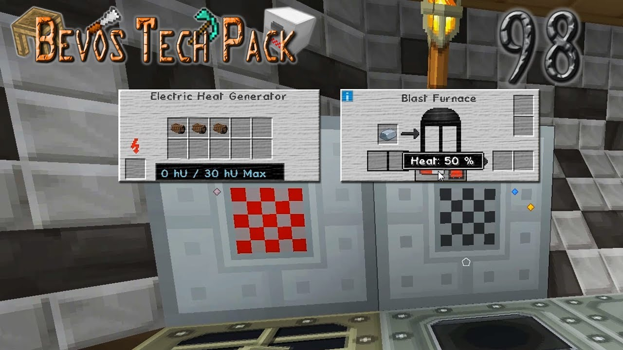 Heat Generator Und Blast Furnace Minecraft Lets Play Bevos Tech Pack 098