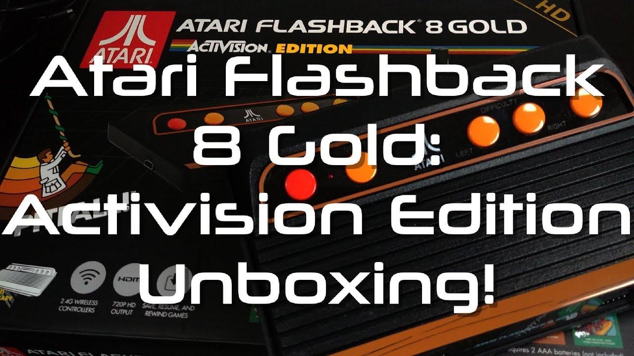 Atari Flashback 8 Gold Activision Edition Unboxing