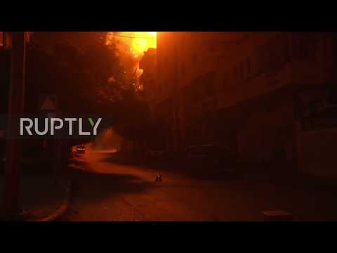 State of Palestine: Israeli air strikes destroy Hamas TV station headquarters in Gaza