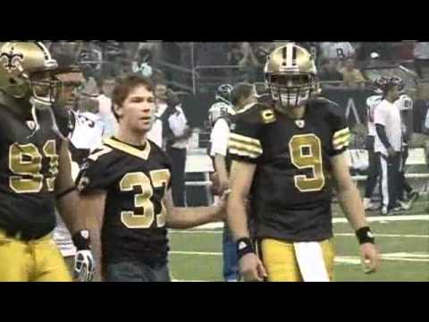 12bbf3edc Former Saint Takes ALS Patients To Super Bowl - YouTube