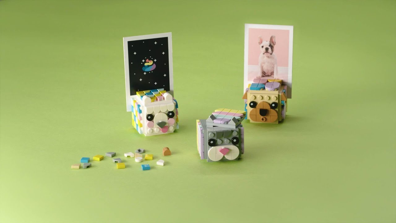 LEGO DOTS Animal Picture Holders   Smyths Toys