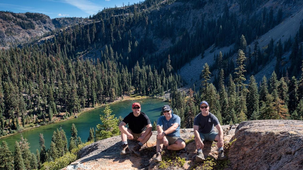 Hiking Marble Mountains Klamath National Forest