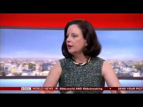 Cornelia Meyer Newspaper Review BBC World (10/05/2016)