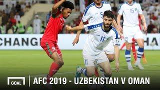 Uzbekistan v Oman (2-1) AFC Asian Cup Highlight