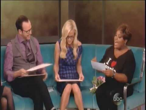 Donnie Wahlberg & Jenny McCarthy on The View 9/9/13