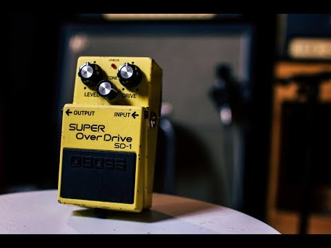 Boss SD-1 - The Super Overdrive - Getting Enough Gain With It