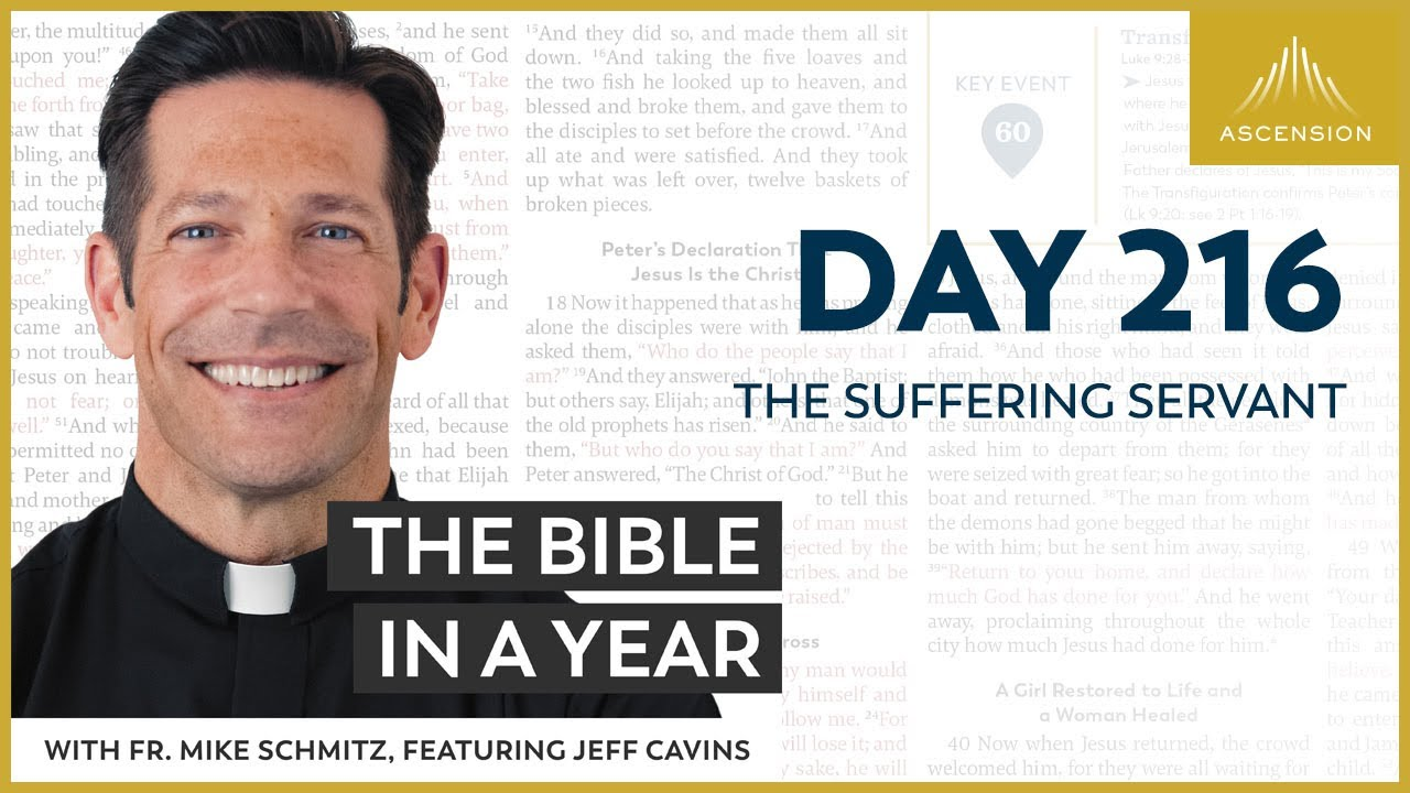 Day 216: The Suffering Servant — The Bible in a Year (with Fr. Mike Schmitz)