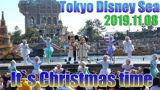【高画質】初日当選2回目公演 ディズニークリスマス 東京ディズニーシー イッツクリスマスタイム