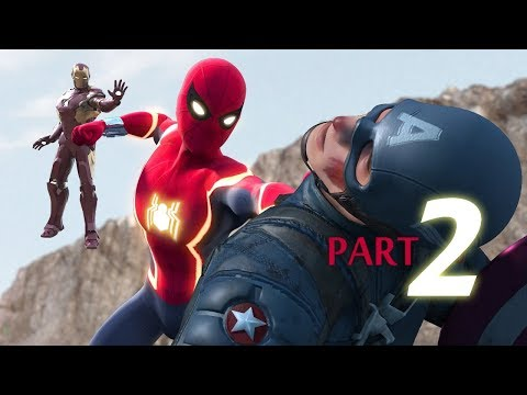 Thumbnail: SPIDER-MAN: HOMECOMING vs Captain America - Civil War Part2 ft New Iron Man