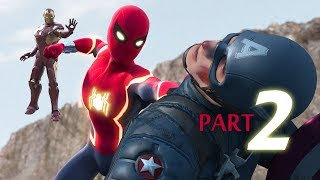 SPIDER-MAN vs Captain America vs Iron Man (Part 2/3)
