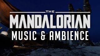 Mandalorian Music and Ambience   Energetic Music with Scenes from Mos Eisley, Tatooine