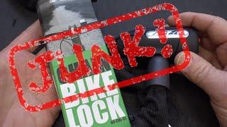 (1443) مراجعة: BV قفل الدراجة (غير المرغوب فيه!)