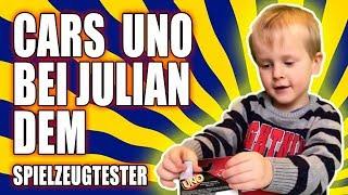 Cars UNO bei Julian dem Spielzeugtester