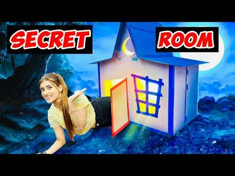 I Build A Hidden SECRET ROOM In My House 🏠 | *gone wrong* 😭 | SAMREEN ALI