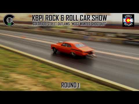 "KBPI Rock & Roll Car Show: Colorado Street Outlaws ""Most Wanted Shootout"" ROUND 1"