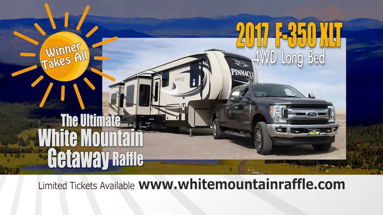 5th Annual Ultimate White Mountain Getaway Raffle - 30 seconds