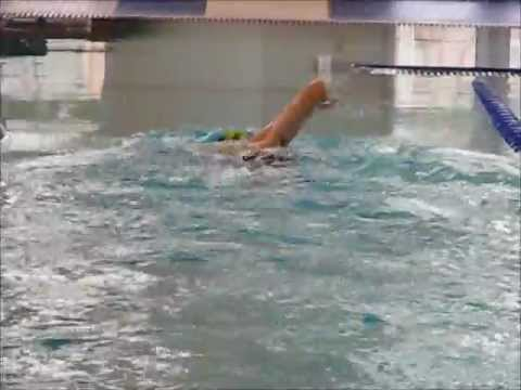 Evan Sanders' Swim Technique
