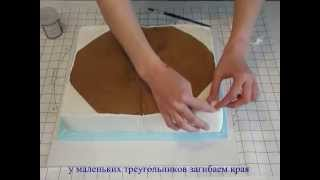 fairy Cake 1   How to make book cake Торт книга мастер класс