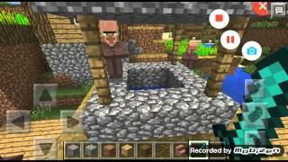 Minecraft PE Köyün altındaki gizem (ŞAKA DEĞİL)