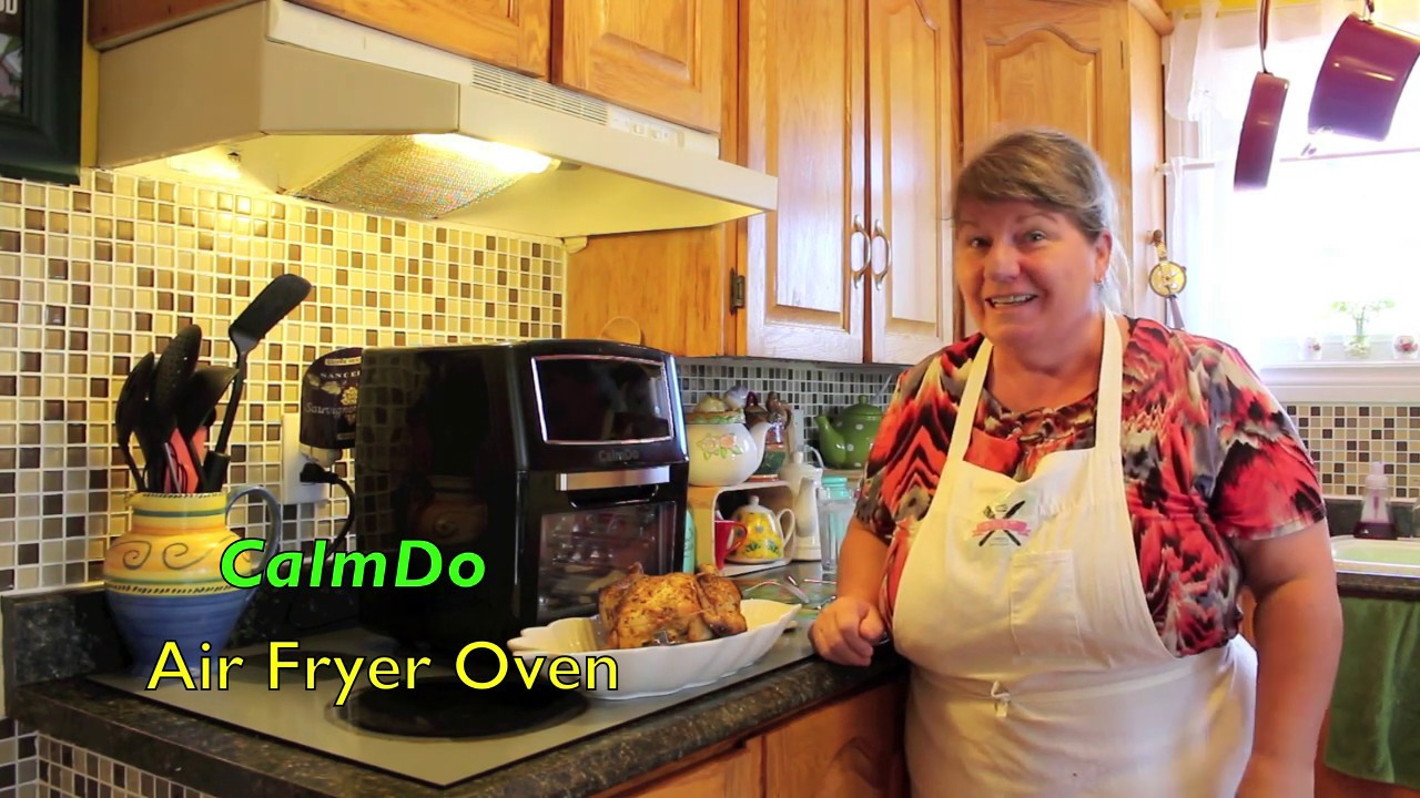 Calmdo Air Fryer Oven Review By Bonita S Kitchen Youtube