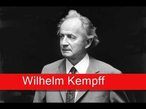 Wilhelm Kempff: Schubert - Impromptus No. 3 in G flat major,  Op. 90 D 899