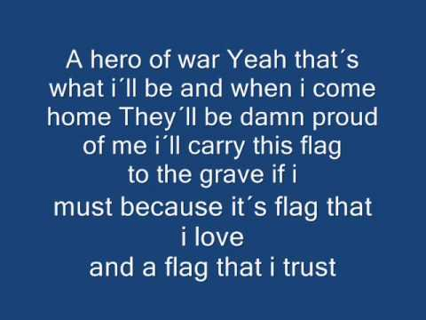 Hero of war lyrics