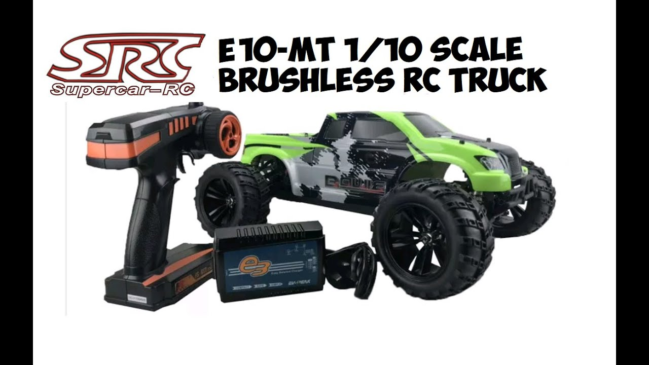 SRC E10-MT 1/10 SCALE BRUSHLESS RC TRUCK