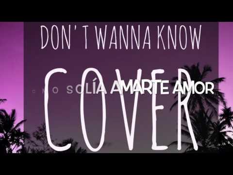 Don't Wanna Know - Maroon 5 (español...