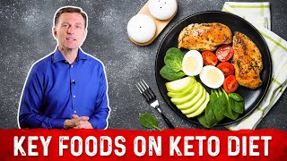 Key Foods on a Ketogenic Diet