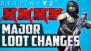 Destiny 2 News: WTF!! - MAJOR LOOT SYSTEM CHANGES!! (No More Perfect Stat Roll Weapons & Armor?)