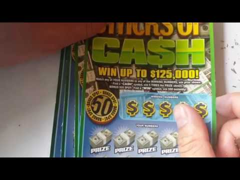 Frenzy Friday Tickets! $30 SESSION -  Lots of Scratch off Indiana Hoosier lottery