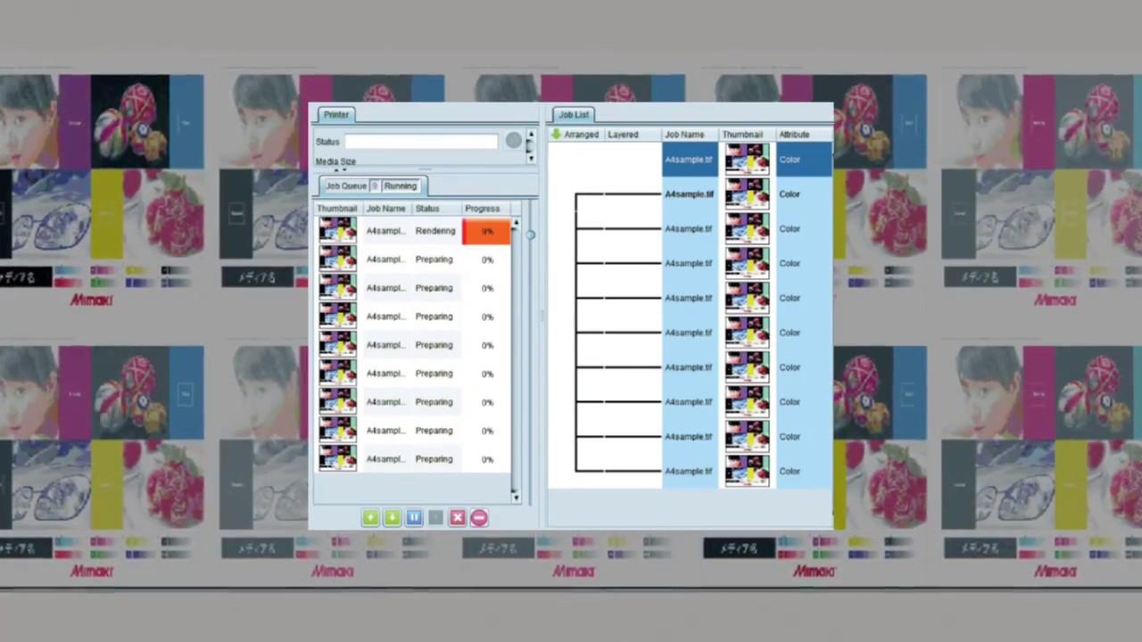 Mimaki Software: RasterLink Software