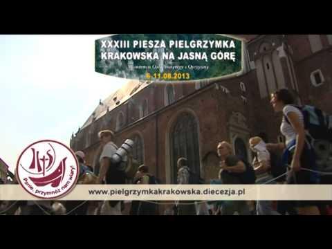 Zaproszenie na XXXIII Krakowską Pielgrzymkę